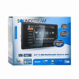 "SOUNDSTREAM VM-622HB 2DIN 6.2"" TOUCH LCD BLUETOOTH STEREO ANDROID PHONELINK"