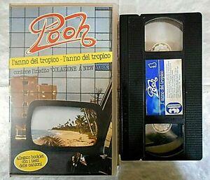 POOH - L'ANNO DEL TROPICO ( 1983 )# VHS #