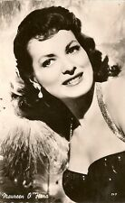 CARTE POSTALE PHOTO CELEBRITE ACTRICE MAUREEN O'HARA