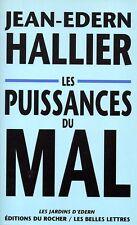 JEAN-EDERN HALLIER / LES PUISSANCES DU MAL / GRAND FORMAT