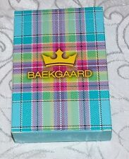 Vera Bradley Poker Playing Cards by Baekgaard Standard Case Deck Caribbean Blue