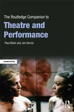 The Routledge Companion to Theatre and Performance by Paul Allain 9780415636315