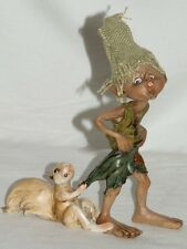 pixie,kobold,wicht,14cm,die feenhaften,wichtel,waldgeister,eichhörnchen,feen,