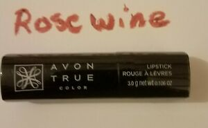 Avon True Color Lipstick: Rosewine New Sealed Discontinued