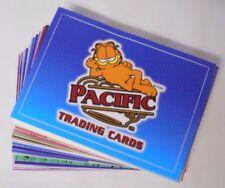 2004 Pacific Garfield Vinyl Cling Sticker Trading Card Base Set #1-42
