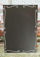 A3 Chalkboard Ornate Shabby Chic Ornate Blackboard Free UK P&P