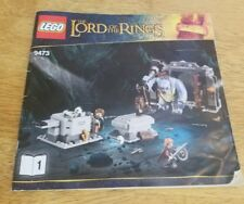 LEGO 9473 The Mines of Moria INSTRUCTION MANUAL ONLY  book 1 LOTR