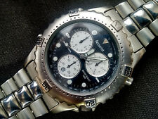 Stylish Accurist chronograph Date Black&White Face WR 50m