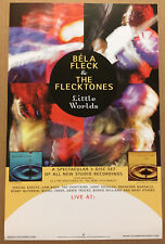 Bela Fleck Rare 2003 Promo Tour Poster for Little Worlds Cd Mint 11x17 Usa