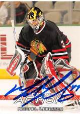 MICHAEL LEIGHTON BLACKHAWKS AUTOGRAPH AUTO 03-04 IN THE GAME ACTION #159 *51974