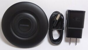 Samsung 9W Qi Fast Charge Wireless Charging Pad for Note 20 S10, iPhone 12/11/XR