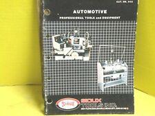 SIOUX Automotive Tools & Equipment CATALOG 55PG HEAVY DUTY AUTOMOTIVE INDUSTRIAL
