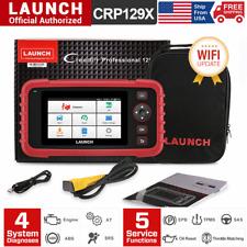 LAUNCH X431 CRP129X PRO Automotive OBD2 Code Reader Diagnostic Scanner 4 Systems
