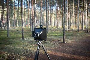 3d printed - WillTravel 8x10 camera for your focal length