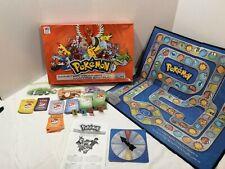 COMPLETE Pokemon Master Trainer Board Game Orange Milton Bradley 2005 V-Good