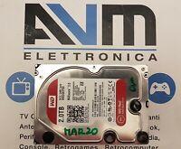 "HARD DISK 3,5"" WD20EFRX RED 2TB Western Digital 2000GB interno SATA NAS Server"