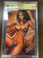 Dejah Thoris #1 - Comic Kingdom Virgin Var. - Signed by Nathan Szerdy - CBCS 9.8