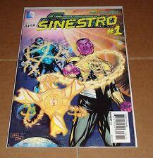 Green Lantern #23.4 3D Motion Lenticular Cover 1st Print Sinestro