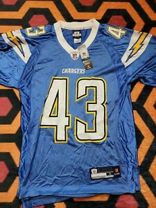 Reebok NFL San Diego L A Chargers 43 Sproles Jersey Shirt Size Small