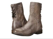 Bed-Stu-Bridgewater-Grey Rustic Ankle Boots-9-5M  NIB