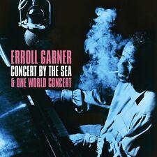 Erroll Garner Concert By The Sea 1955 & One World Concert 1962 2 CD set Jazz