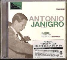 Antonio Janigro - Bach: Suites For Solo Cello No.1-6 2CD Korea Import SEALED NEW