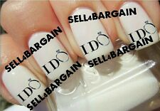 Flash Sale》WEDDING I DO ENGAGEMENT RING CONGRATULATIONS》Nail Art Decals