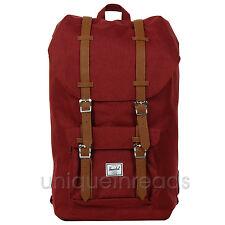 Herschel Supply Co. - Little America Backpack - Winetasting Crosshatch / Tan