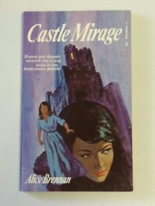 Vintage CASTLE MIRAGE By Alice Brennan 1971 Mystery Paperback Book 315