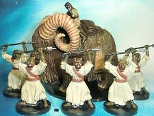 Star Wars Miniatures Lot  Tusken Raider on Bantha Sand People !!  s97