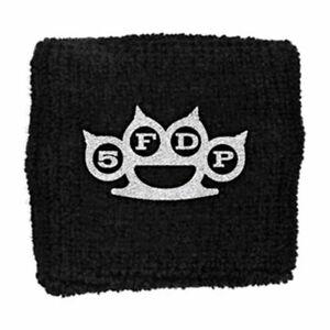 Five Finger Death Punch Men's Knuckles Athletic Wristband Black