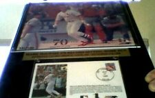 MARK McGWIRE #70 HOME RUN AUTHENTIC CACHET ST. LOUIS 9-27-1998 &  USPS STAMP