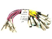 HORIZON/SWITCHCRAFT 1FT ¼ JACK MALE TO 1 XLR MALE/FEMALE 10¼ CABLE #0976 (ONE)
