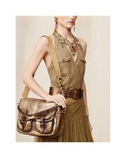 NWT$2750+tax  Ralph Lauren Vachetta Hunting messenger bag (Special Artisanal)