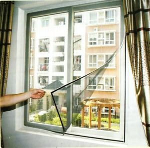 Flyscreen Insect Screen Magnetic Windows 100x120cm and 150cm x 150cm