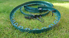Plastic Garden Edging Green Edging 10meters for Borders Paths Lawn 30 Pegs