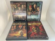 Pirates of the Caribbean Trilogy Dvd lot - 5-Disc - First 3 movies 1 2 3