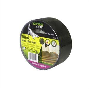 Croc Grip 5m x 48mm Black Anti-Slip Tape