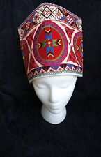 RARE, USSR, Estonian Setomaa (Seto) folk hat. VG+ Condition! Original!