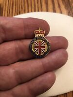 Daughters Of The British Empire Imperial Order 1920 Pin Lapel Tac Brooch