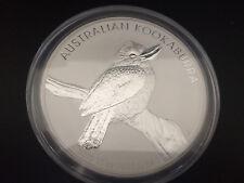 2010 Australia 10 oz Silver Kookaburra