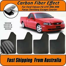 Mud Flaps For Ford Falcon FG X AU BA BF XR6 Ute Splash Guards Mudguards Mudflaps