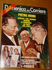 DDC 1980/3=PIETRO NENNI=FRANCESCO MESSINA=NADIA COMANECI=FABRIZIO DE ANDRE LIBER