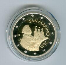 San Marino Pièce de Monnaie 2018 Pp Seulement 2.600 Pièce