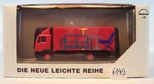 Herpa 1/87 09.38069-0077 MAN L2000 LKW Koffer Möbel Werbemodell OVP #6149