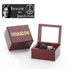 Handcraft IMAGINE Wind UP Mirror Music Box:  IMAGINE @ JOHN LENNON