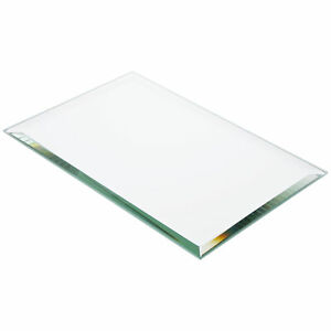 Plymor Rectangle 5mm Beveled Glass Mirror, 6 inch x 9 inch (Pack of 3)