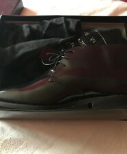 mens brand new black shoes size 9 boxed with tags