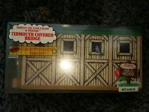 Tidmouth Covered Bridge 1994 Thomas & Friends Wooden Railway NIB Rare! #99308