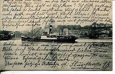 Vor 1914 Frankierte Ansichtskarten aus Deutschland für Schiff & Seefahrt